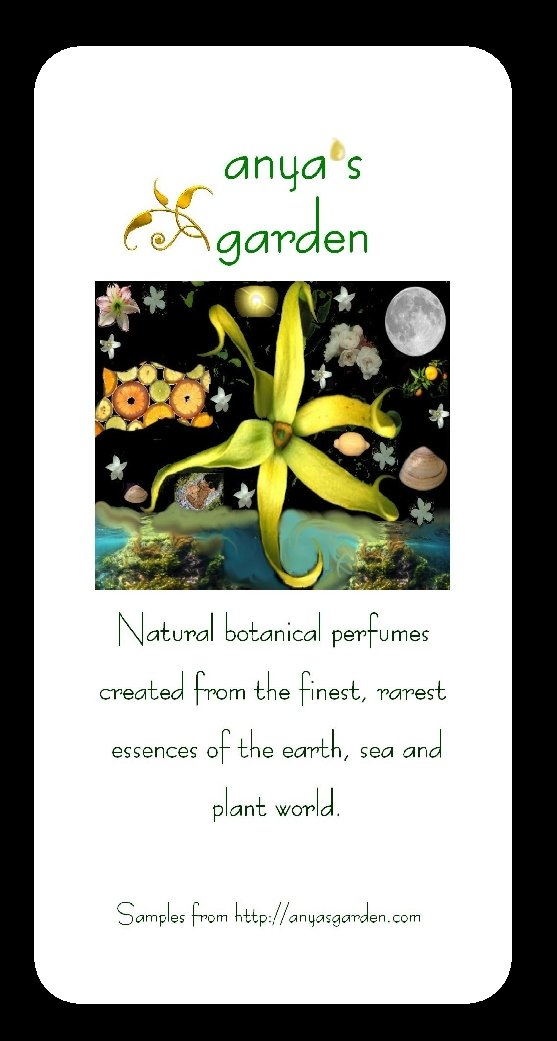 Anya's Garden Perfumes Seed-packet-samples-2006