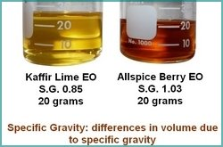 You'll need to know specific gravity to make quantities of perfume.  The NPI is the only NP course that teachs SG