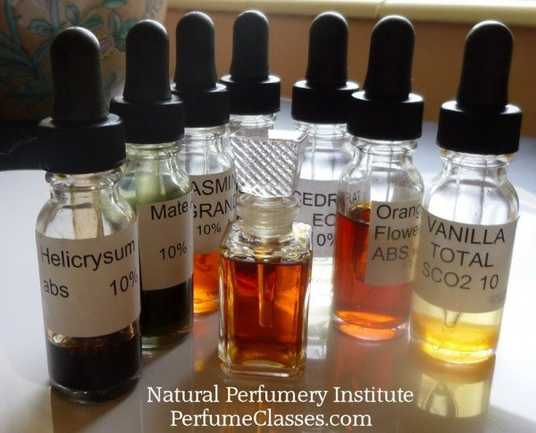 Working with, or wearing natural essences is a healthy choice. Want to study this healthful art? http://PerfumeClasses.com