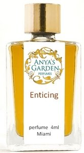 4ml bottle of Enticing pure and natural perfume from Anya's Garden