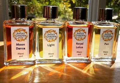 Anya's Garden Perfume Moon Dance, Pan, Light, Royal Lotus