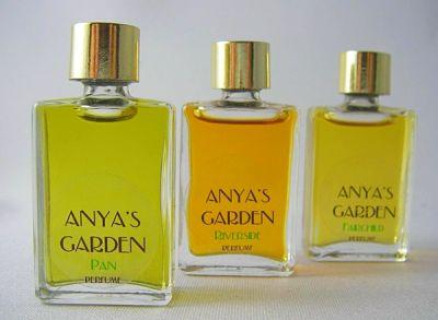 Trio of Anya's Garden Perfumes