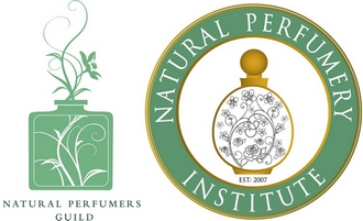 natural perfumers guild and natural perfumery institute logos